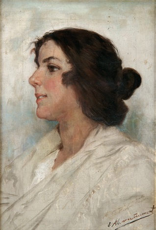 retrato de joven by eugenio alvarez dumont