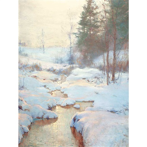 winter haze by walter launt palmer