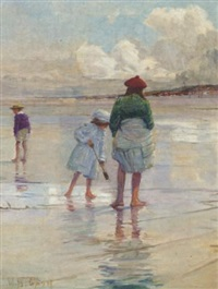 at the seaside by walter bonner gash