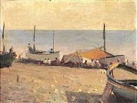 la spiaggia by alfonso muzij