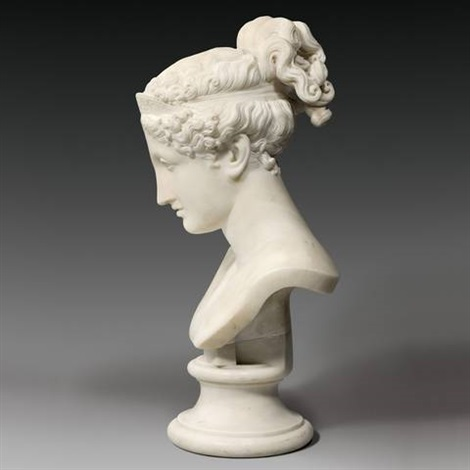 bust of hebe by antonio canova