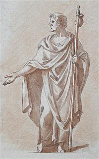 antiker philosoph by peter anton von verschaffelt