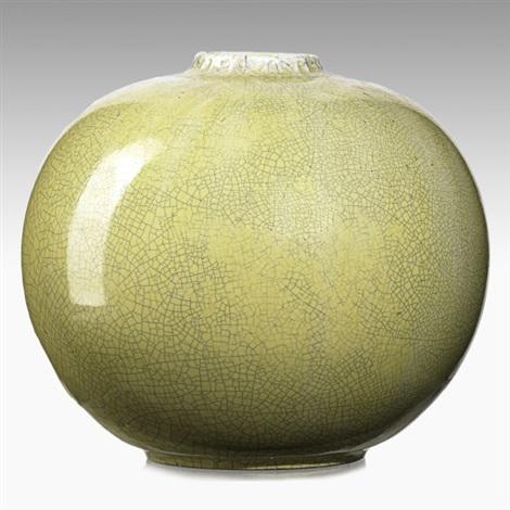 Spherical Vase By Adelaide Robineau On Artnet