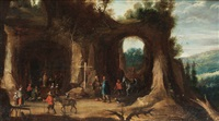 holy mass in the mountains by joos de momper the younger