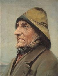 ritratto di pescatore by lars soren jensen rastrup