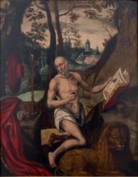 saint jérôme dans le désert by anonymous-dutch (16)