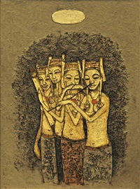musicians by cheong soo pieng