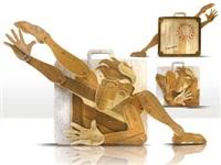 contorsionista viaggiante by laura migotto