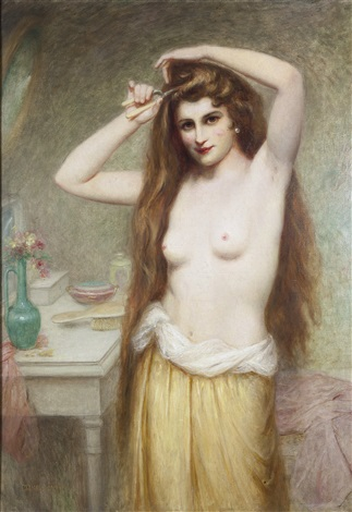 fanciulla allo specchio by edouard cabane
