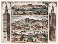 vista de la giralda, san juan de aznalfarache y gerena by joris (george) hoefnagel