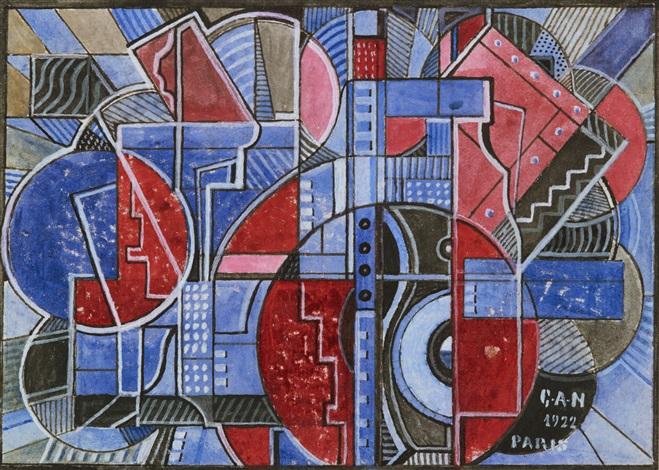 geometrisk komposition by gösta gan adrian nilsson