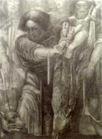 sacrifice lamb by willem van konijnenburg
