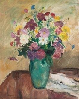 Jarron con flores by Celso Lagar on artnet