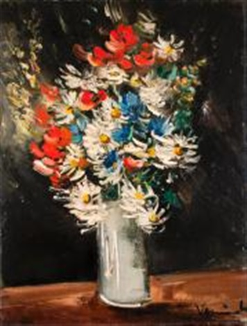 bouquet de fleurs des champs by maurice de vlaminck on artnet. Black Bedroom Furniture Sets. Home Design Ideas