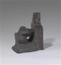 kleine sitzende figur by fritz wotruba