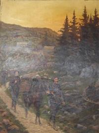 les chasseurs alpins by pierre petit-gérard