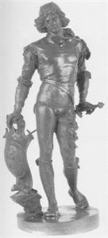 a french cavalier by alphonse lippmann