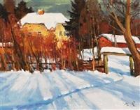 farmhouse road by mark kremer