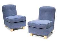lounge chairs (pair) by roy mcmakin