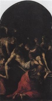 the entombment by michelangelo aliprandi