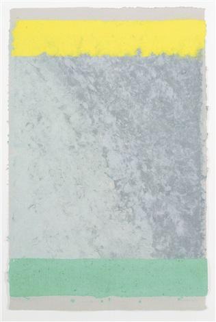 horizontal stripes i (from horizontal stripes) by kenneth noland
