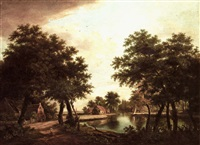 dutch landscape by johannes coucke