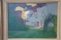derniers rayons de soleil sur le maison by jules léon flandrin