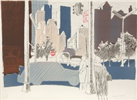 untitled (nyc) by fairfield porter