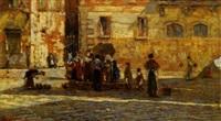 venezia, donne al pozzo by filippo carcano
