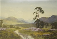 the grampians (from near boat of garten) by donald a. paton
