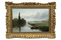the trent above nottingham by albert dunnington