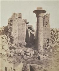 egypte karnak (thebes) pg 51 by félix teynard