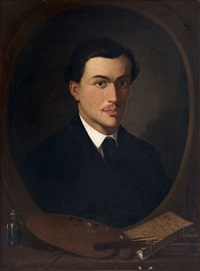retrato de pintor by francisco cabral bejarano