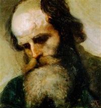 porträt eines bärtigen mannes by tobias andreae