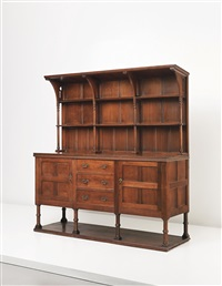 early and rare sideboard by philip webb