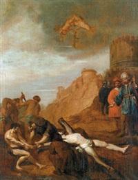 die kreuzigung des apostels andreas by jacob symonsz pynas
