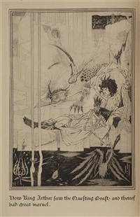 the birth, life and acts of king arthur by aubrey vincent beardsley