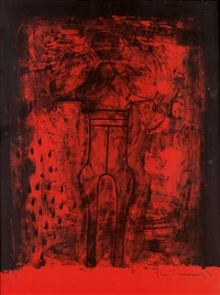 affiche avant lettre by rufino tamayo