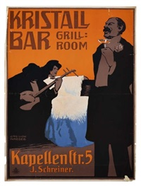 kristall bar by otto ludwig naegele