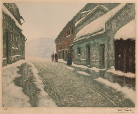 tovaer by frits thaulow