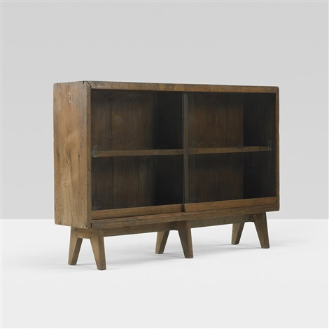 bookcase from the college of fine art chandigarh by pierre jeanneret