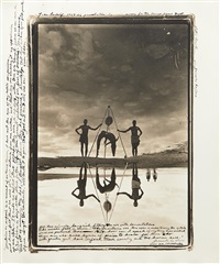 reflections in natural history, moite bay, lake rudolf by peter beard