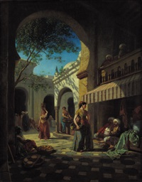 mercato arabo by cesare biseo