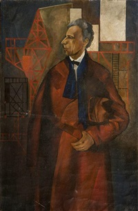 portrait of vsevolod meyerhold by anonymous-russian
