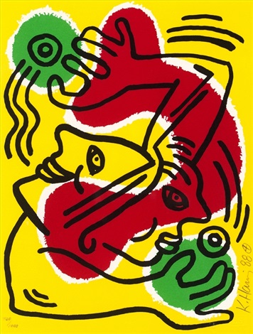 international volunteer day by keith haring