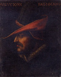 portrait of ugucione fagiolani by cristofano di papi dell' altissimo