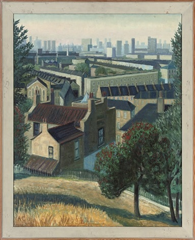 roofs and holly trees the point greenwich 2 others 3 works by anne e christopherson