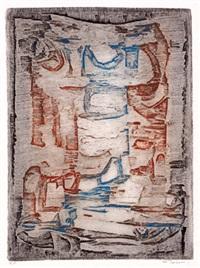 winterlandschaft (+ o.t.; 2 works) by marcel fiorini