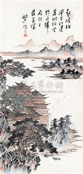 山水楼阁 by ning dizhong