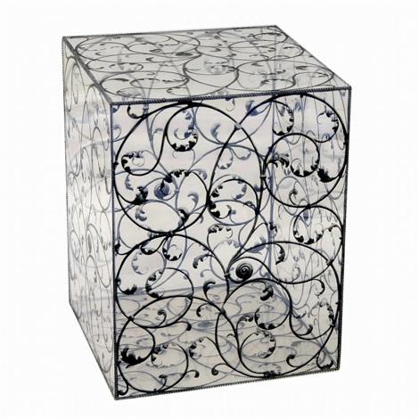 plastic box leaf pattern by myung keun koh